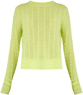 SIES MARJAN Casey cable-knit cashmere sweater