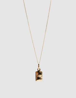 Loren Stewart Demi ID Tag Necklace