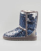 UGG Sparkles Classic Short Shearling Boot, Midnight Multi
