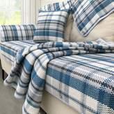 YANGYAYA Cotton sofa cover multi-size,Lattice striped anti-slip sofa slipcover sectional protector
