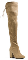 Pierre Dumas Tan Clemence Over-the-Knee Boot - Women