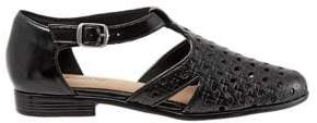 Trotters Leatha Open-Weave Leather Flats
