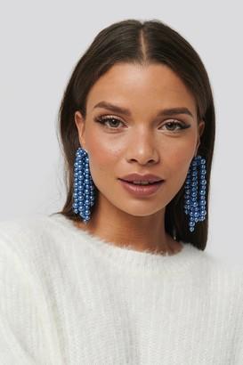 NA-KD Pearl Dropping Earrings