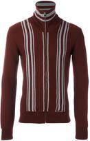 Dolce & Gabbana striped zip cardigan