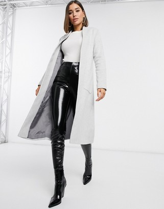Helene Berman college coat in gray