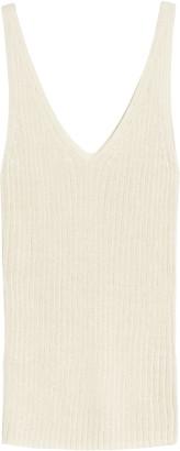 Treasure & Bond V-Neck Ribbed Sweater Tank