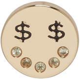 Marc Jacobs Gold Dollar Eye Earring