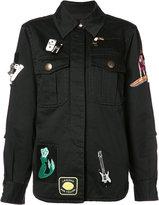Marc Jacobs multi patched jacket - women - Cotton - 2