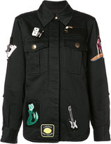 Marc Jacobs multi patched jacket