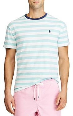 Polo Ralph Lauren Custom Slim Fit Striped Tee