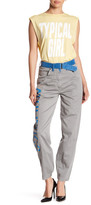Love Moschino Front Print Athletic Pant