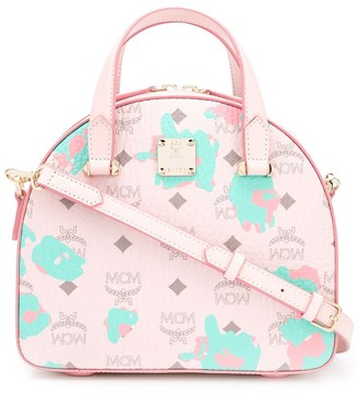 MCM All-Over Logo Tote Bag