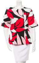 Marni Floral Print Short Sleeve Top w/ Tags