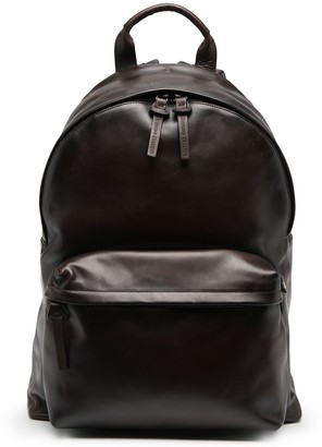 Officine Creative Classic Leather Backpack