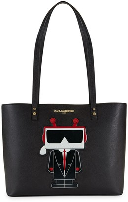 Karl Lagerfeld Paris Faux Leather Tote