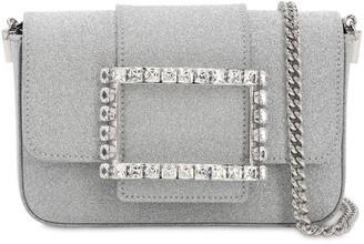 Roger Vivier Micro Tres Vivier Embellished Bag