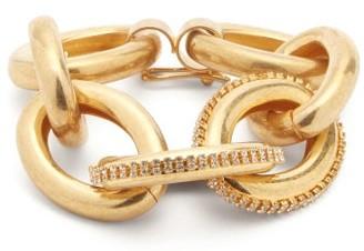 Marni Crystal-embellished Chain Bracelet - Gold