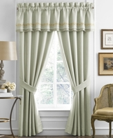 "Croscill Lorraine 88"" x 17"" Tailored Window Valance"
