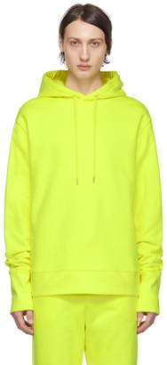 A Plan Application A-Plan-Application Yellow Oversized Hoodie
