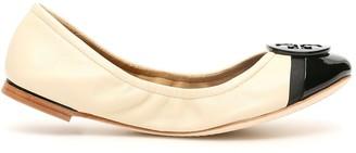 Tory Burch Logo Flat Shoes