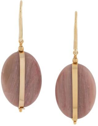 Isabel Marant Stone Disc Earrings