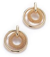 Anne Klein Pierced Ear Door Knocker Earring