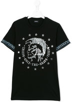 Diesel Tait T-shirt - kids - Cotton - 16 yrs