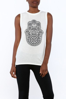 Spiritual Gangster Knit Sleeveless Tee