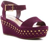 Schutz Chelsea Studded Platform Sandal
