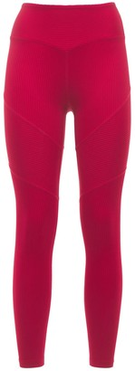 YEAR OF OURS Active Rib Chevron Leggings
