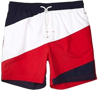 Tommy Hilfiger Adaptive Swim Trunks with slide loop closure (Navy Blazer) Men's Swimwear