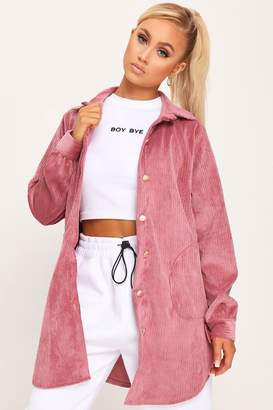 I SAW IT FIRST Rose Cord Jacket