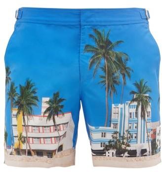 Orlebar Brown Bulldog Printed Shell Swim Shorts - Blue Multi