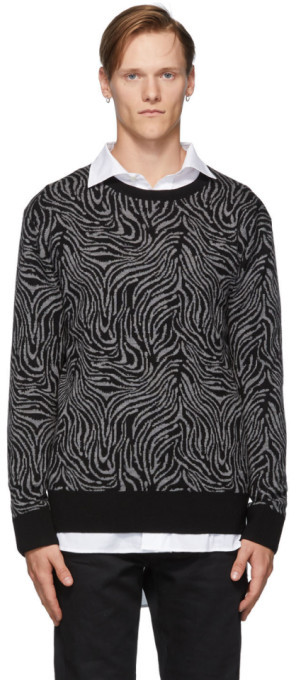 Tiger of Sweden Black Nylan P Sweater