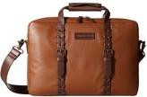 Johnston & Murphy Zip Top Briefcase