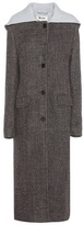 Acne Studios Andela Wool And Linen-blend Coat