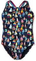 Gap Sailboat crisscross swim one-piece