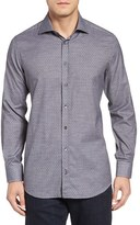 Luciano Barbera Men's Dot Sport Shirt