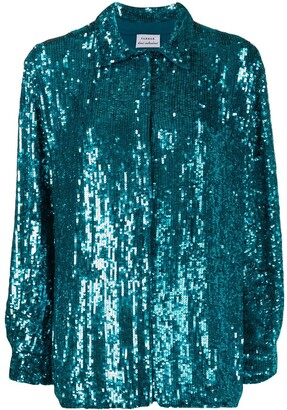 P.A.R.O.S.H. Gummy sequin shirt