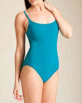 Karla Colletto Basic Spaghetti Strap Tank Swimsuit