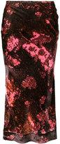 Ellery floral print skirt - women - Silk/Rayon - 6