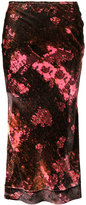 Ellery floral print skirt - women - Silk/Rayon - 8