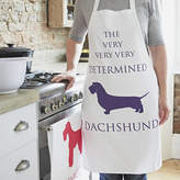 Bottle Green Homes Dachshund Determined Apron