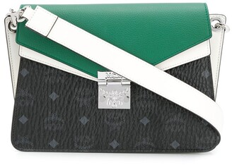 MCM Colour-Block Shoulder Bag