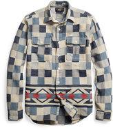 Ralph Lauren Cotton Jacquard Shirt Jacket