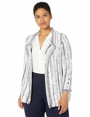 Nic+Zoe Women's Plus Size Harmony Knit Jacket