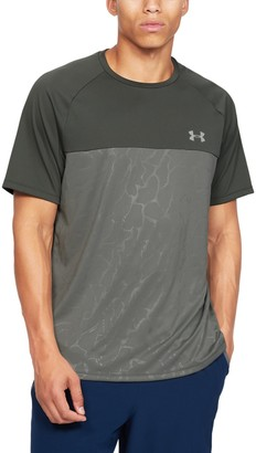 Under Armour Men's UA Tech 2.0 Emboss Short Sleeve
