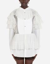 Thumbnail for your product : Dolce & Gabbana Cotton poplin shirt dress