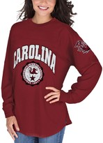 Unbranded Women's Garnet South Carolina Gamecocks Edith Long Sleeve T-Shirt