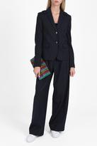 Tibi Pinstripe Trousers